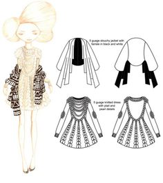 Knit Knit Knit by Natalie Creed, via Behance