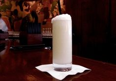 The Ramos Gin Fizz cocktail is known for both its deliciousness and its difficulty to make. Hint: the secret's in the shake.
