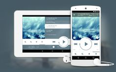 NRG Player for tablets. Music App. Android. UI. #ui #android #player #music #player #app