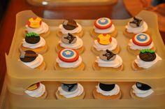 Advengers cupcakes