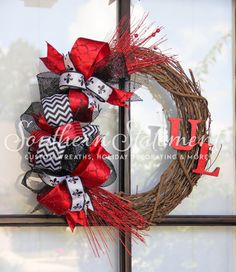 1000 Ideas About Sports Wreaths On Pinterest Football