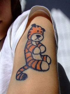 Calvin and Hobbes Fan Art: Tattoos | PurpleSlinky