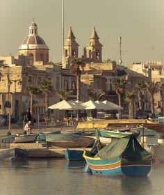 Marsaxlokk,  Malta, by Giovanni Chiaia