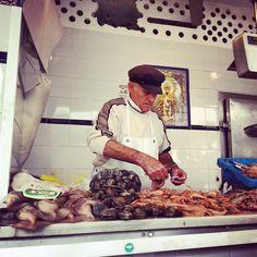 Pescadero. Mercado Andalucía. Spain
