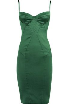 Just Cavalli corset dress-I don't know that there is any way this would look good on me, even if I lost weight, BUT, this just oozes sexiness & classiness!!!!