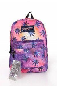 Palm tree pink and purple galaxy Jansport Cute Jansport Backpacks, Chevron Backpacks, Girl Backpacks, Puppy Backpack, Backpack Purse, Crossbody Bag, Canvas Backpack, Floral Backpack, Hiking Backpack