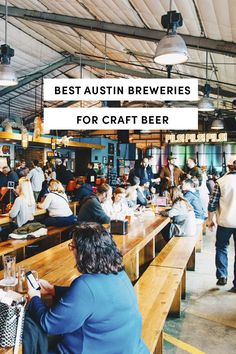 Best Breweries In Austin for Craft Beer by A Taste Of Koko. Take some time in 2019 to explore the many options of Austin's craft beer with this guide to the best this city has to offer! Texas Travel, Travel Usa, Visit Austin, Austin Texas, Craft Bier, Bourbon Drinks, Old Trains, Home Brewing Beer, Best Beer