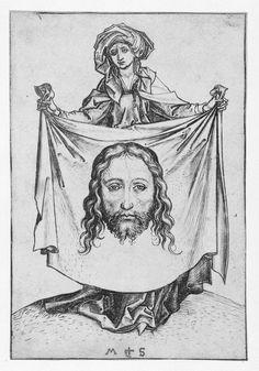 Heilige Veronica, Martin Schongauer, 1470 - 1490
