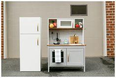 IKEA kitchen hack with fridge...