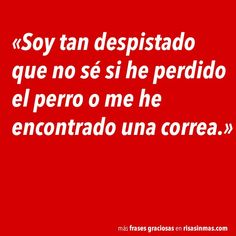 Soy tan despistado Funny Images, Funny Photos, Favorite Quotes, Best Quotes, Sweet Memes, Spanish Jokes, Frases Humor, Inspirational Phrases, Live Laugh Love