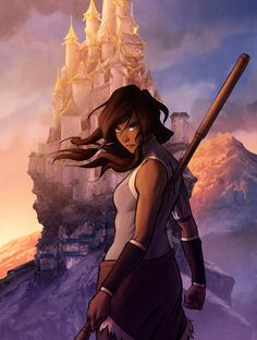 I saw that the solicitation cover for the third Korra Dark Horse art book is up on Amazon's pre-order now. That was an earlier work-in... via bryan konietzko