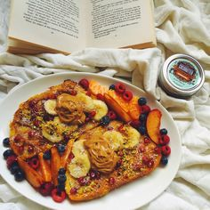 Pumpkin French Toast #healthy #breakfast #yummy #cleaneating #food #vegan #gluten #dairy #free