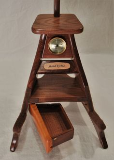 Model 3 Guitar Stand with inscription