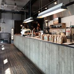Ozone Coffee Roasters London.
