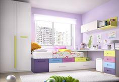 Dimensions: Wardrobe: W100 x D60 x H240 cm 1-Drawer Unit: W50 x D102. Bed Base w/Pull Out Guest Bed: W200 x D102. 1-Drawer Unit: W50 x D102. Support Panel: W49 x D56. 4-Drawer Cabinet: W45 x D54. Table Top: W220 x D57 x H3 cm Wall Cabinet w/Lift Up Door: W101 x D29 x H33 cm Wall Shelf: W60 x D28.