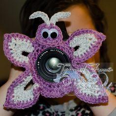 Butterfly Lens Critter pattern by Cyndi Hughes