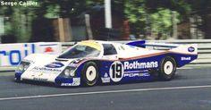 RSC Photo Gallery - Le Mans 24 Hours 1987 - Porsche 962 no.19 - Racing Sports Cars