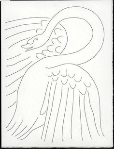 Henry Matisse Swan Poster By Pg Reproductions