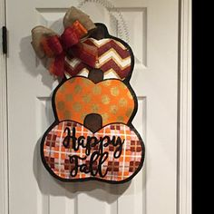 Patriotic Burlap Cross Door Hanger Decoration and Wreath Replacement Cross Door Hangers, Burlap Door Hangers, Old Time Christmas, Christmas Wreaths, Christmas Ornaments, Burlap Door Decorations, Fall Wood Crafts, Burlap Cross, Burlap Mason Jars
