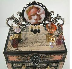 Alpha Stamps: Matchbox Chest Tutorial + Last Day Charms Sale + Free Gift Kit