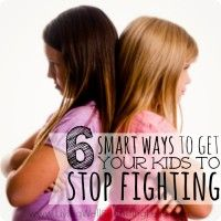 Smart Ways to Get Kids to Stop Fighting Square