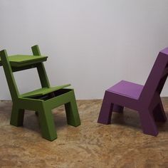 How to build the plusDuo kid's chair/desk
