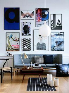 20 Gorgeous Gallery Walls | DAMSEL IN DIOR | Bloglovin'