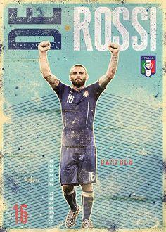 De Rossi Azzurri Italia on Behance