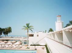 Coral Casino at Four Seasons Santa Barbara - vintage glam!