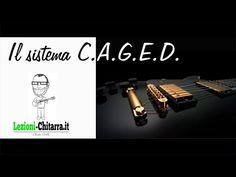 SISTEMA CAGED E ACCORDI - LEZIONI DI CHITARRA - TUTORIAL - YouTube