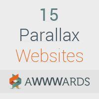 15 Parallax Websites μέσα από τα μάτια του Awwwards.com