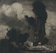Frank Brangwyn, The Storm,1904