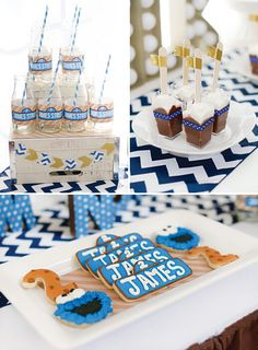 Sweet {Chocolate Chip} Cookie Monster Birthday Party