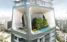 Unstudio: Scotts Tower, Singapore