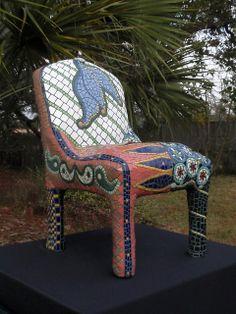 Gila Mosaics n'stuff chair -- LOVE THIS!!!
