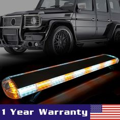 Special Section 1pcs Led Working Light 27 24 Led Car Emergency Traffic Advisor Flash Strobe Light Bar Warning Amber Yellow Automobiles & Motorcycles Car Lights
