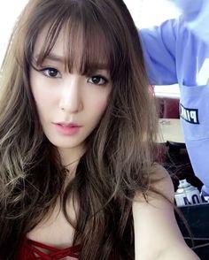SNSD - Tiffany 티파니 Hwang MiYoung 황미영 selca #셀카 #소녀시대