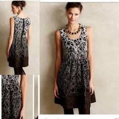 Anthropologie Dresses & Skirts - Fading Tracery dress by Maeve size 6