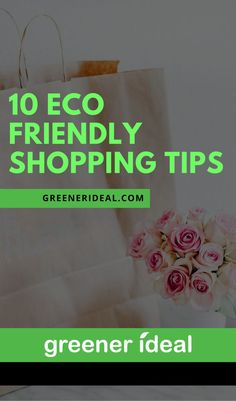 With so much happening to the environment, it's in your best interest to minimize your own negative impact on the planet. When it comes to the way you shop, there are many ways you can take to help the environment and minimize your carbon footprint.
