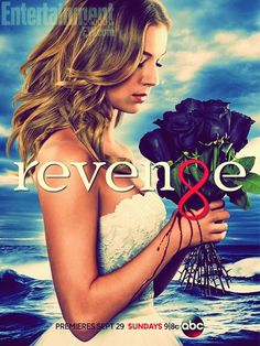 Tv Show- Revenge- betrayed her father; he got arrested and died in prison. Comes back to get revenge on the people that framed him.  Revenge- on the ex boyfriend for lying and putting her daughter in jail.