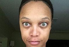 18-Jun-2015 9:10 - TYRA BANKS GAAT COMPLEET NATUREL VOOR INSTA KIEKJE. Celebrities werken weken toe naar hun red carpet look. Van de mooiste outfits uitzoeken tot crash diëten, lagen make-up, spray-tan bezoekjes en tandenbleekbehandelingen. Hetzelfde geldt voor photoshoots en daarna worden ze zelfs nog even onder handen genomen met Photoshop. Tyra Banks (41) heeft genoeg van al die dingen en wil nu haar 'echte ik' met de wereld delen. Het voormalige model plaatste een foto van...