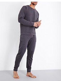 0ebd40bb1ab2 HUGO BOSS Contemporary quilted cotton-jersey sweatshirt Contemporary  Quilts