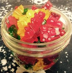 Keto gummy bears | Pixie2016 | Copy Me That Low Carb Sweets, Low Carb Desserts, Sugar Free Gummy Bears, Fruit Leather Recipe, Gelatin Recipes, Keto Snacks, Keto Foods, Keto Candy, No Carb Recipes