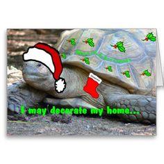 I don't have a chimney, Santa! Cards