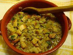 zuppa di carciofi con patate e riso #bread #ricettedisardegna #cucina #sarda #sardinia #recipe #artichoke #potato