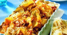 zapečené brambory se zelím Chicken Wings, Meat, Food, Essen, Meals, Yemek, Eten, Buffalo Wings