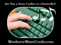 Are You a Story Crafter or Storyteller? Love this article.