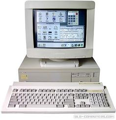 The Acorn was an all new model of the Archimedes family replacing the It had 4 slots like previous models but a larger wider case making it look like a workstation computer. Computer Love, Home Computer, Vintage Classics, Retro Vintage, Office With Computers, Computer Workstation, Intel Processors, Operating System, Information Technology