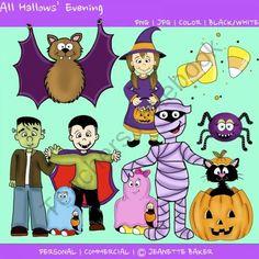 Halloween Clip Art product from Jasons-Online-Classroom on TeachersNotebook.com