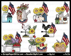 by ResellerClipArt on Etsy